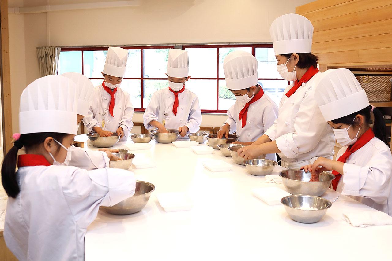 もぐもぐ子ども調理室 小学生クラス