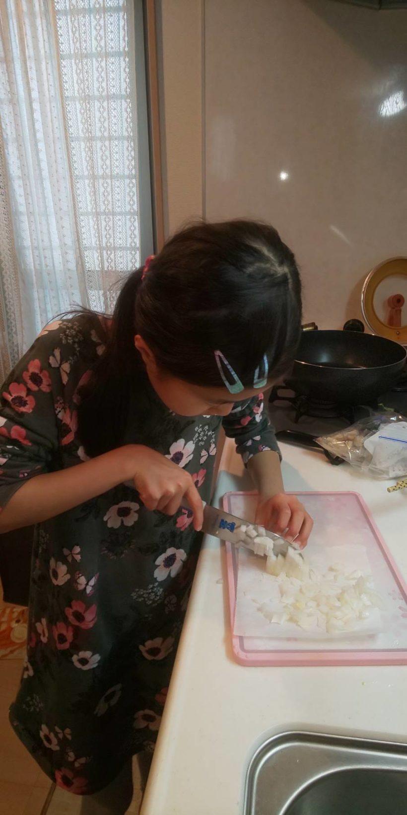 20200417_お家でお料理_レポート